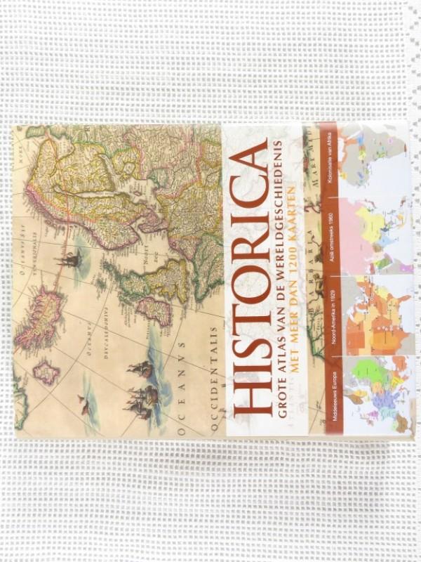 Boek - Historia - Grote atlas van de wereldgeschiedenis