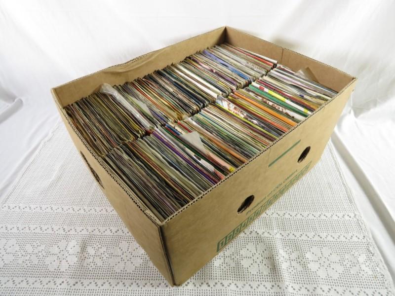 Lot engelstalige vinyl singles