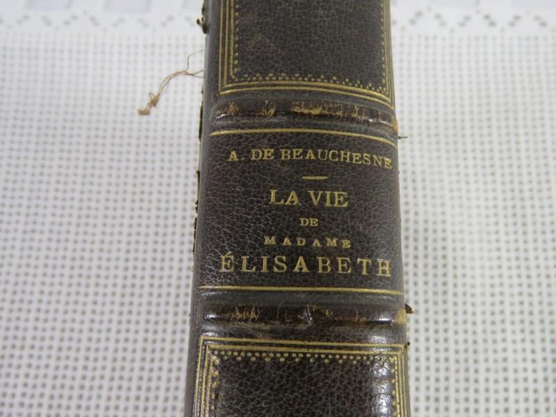 Boek - La vie de madame Elisabeth