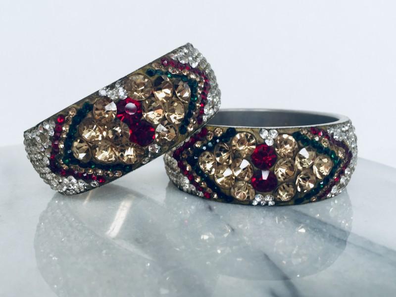 2 Rhinestone Bracelets