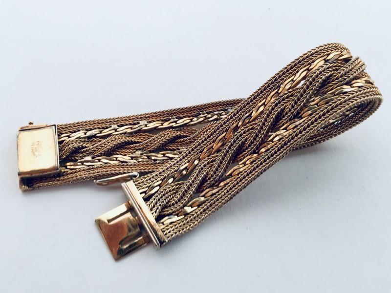 Vintage Grossé Germany Gold Plated Bracelet 1966