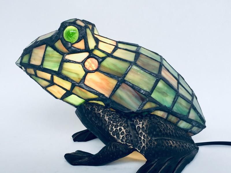 Tiffany - Stijl Kikkerlamp