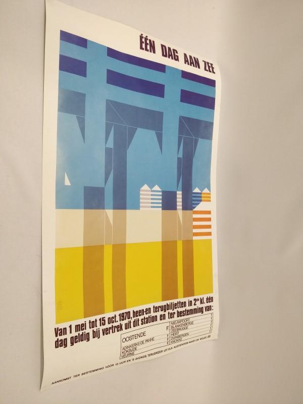 één dag aan zee, poster 1970