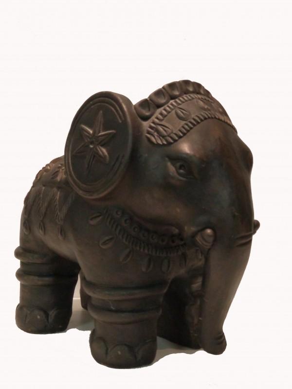 Indische metalen olifant