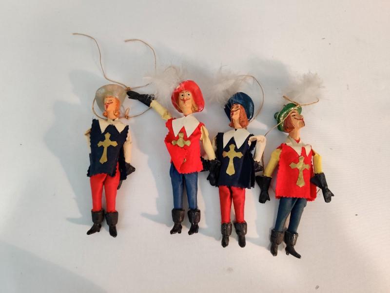 4 musketiers popjes