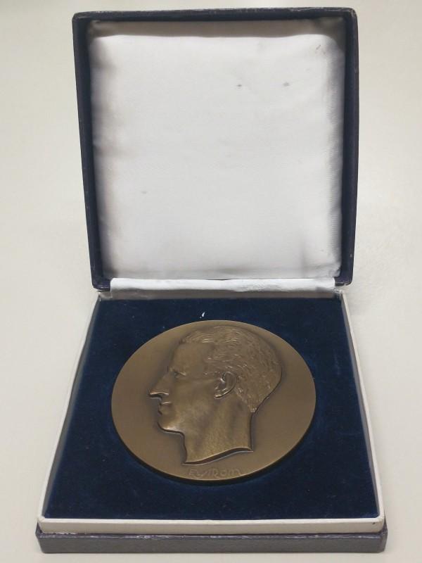 Bronzen muntstuk, Koning Boudewijn