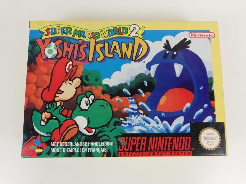Super nintendo super mario world 2 yoshi's island