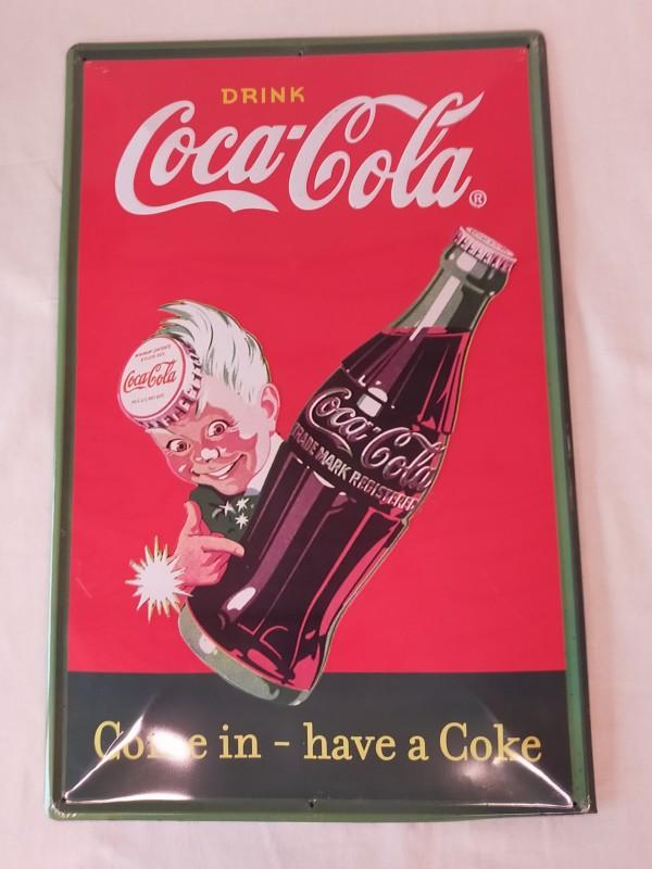 Coca-Cola reclameborden