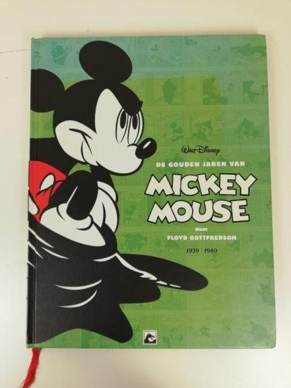 Boek de gouden jaren van Mickey Mouse