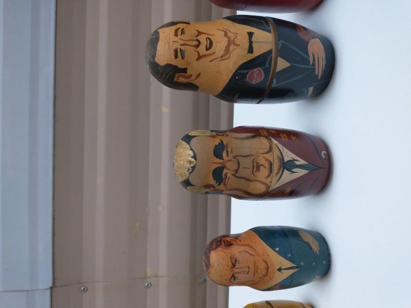 Baboesjka poppetjes wereldleiders