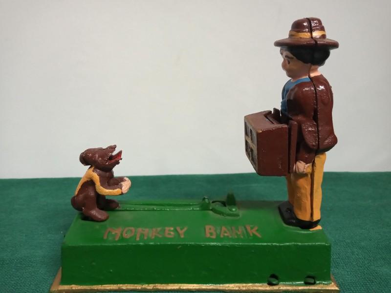 Monkey Bank, Vintage spaarpot