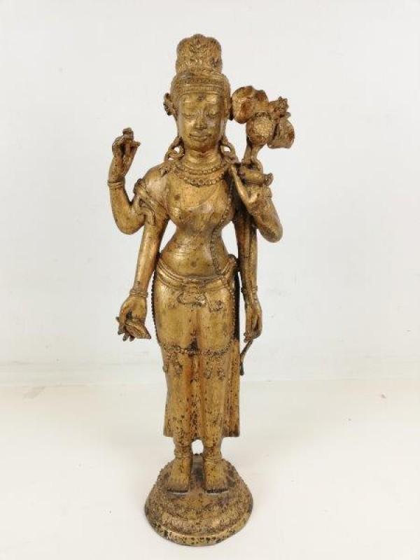 Vintage beeld Thaise god