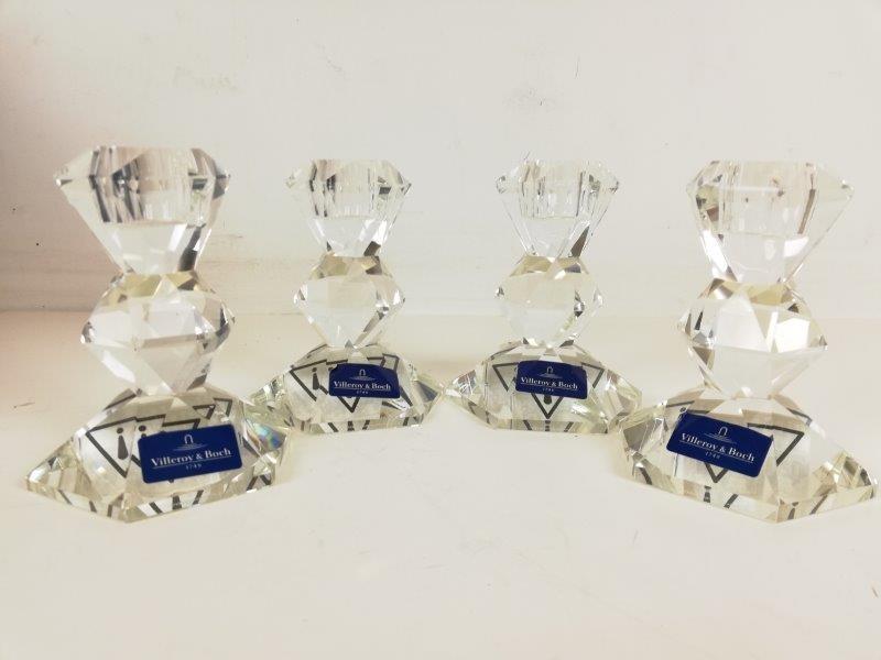 Kristallen kandelaars Villeroy & boch