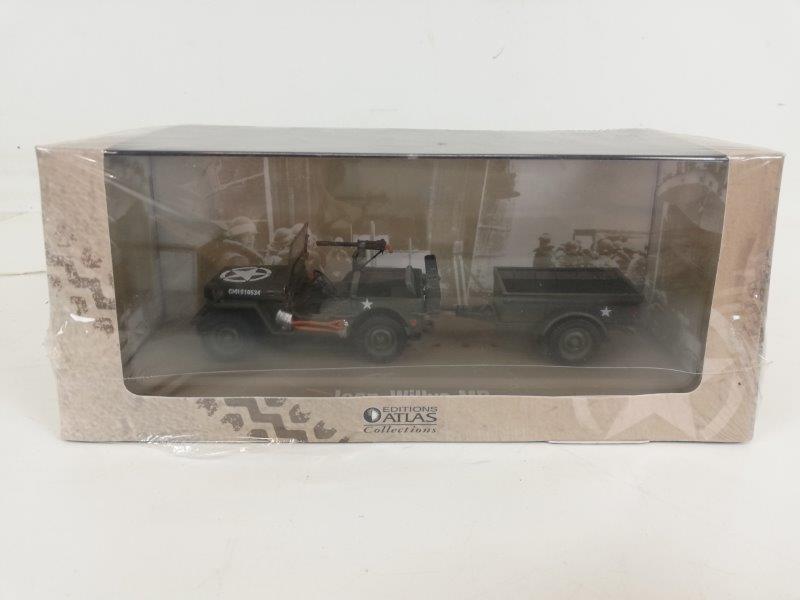 Miniatuur Jeep Willys MB