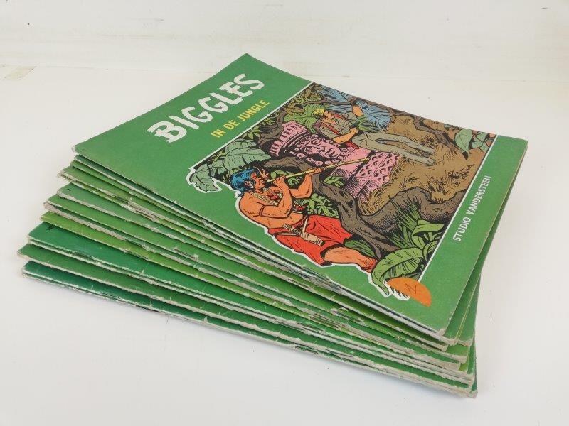 Biggles strips 1e druk