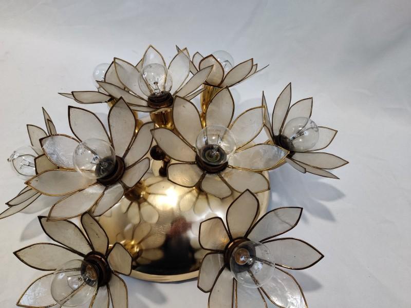 S.A. Boulanger - Flower lotus plafond lamp
