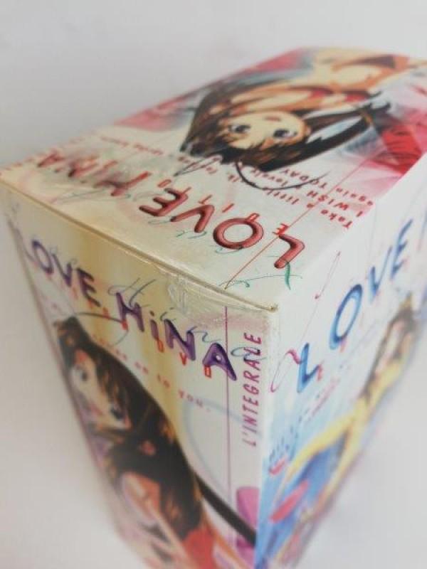 Manga dvd-box Love Hina
