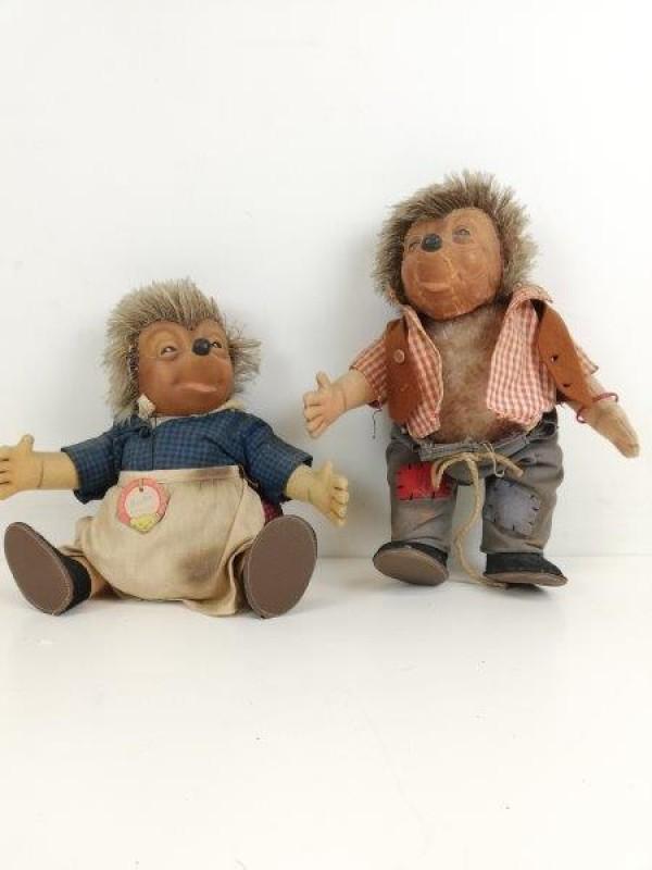 Steiff egelpoppen Micki & Mecki