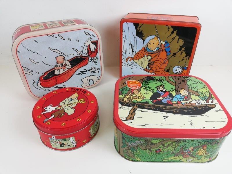 Blikken dozen Tintin / Kuifje