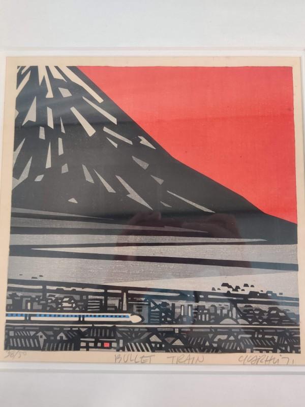 Houtsnede , Bullet Train; Clifton Karhu