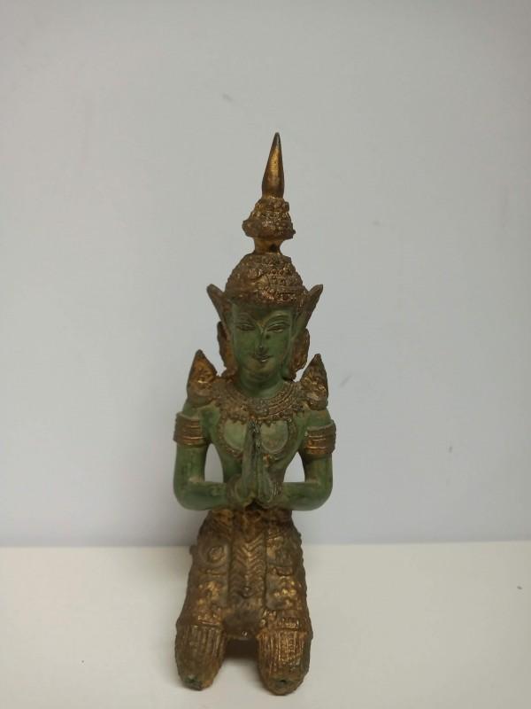 Bronzen beeldje, Tempelwachter