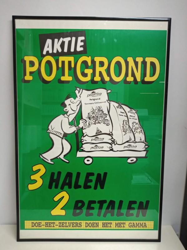 Vintage affiche Gamma