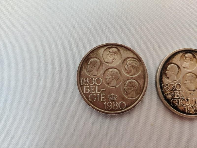 5 zilveren muntstukken