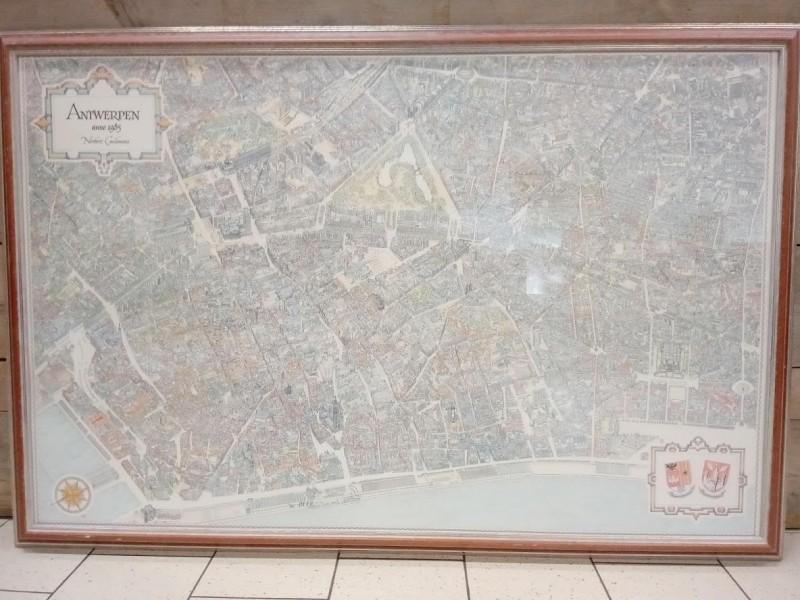 Kaart van Antwerpen