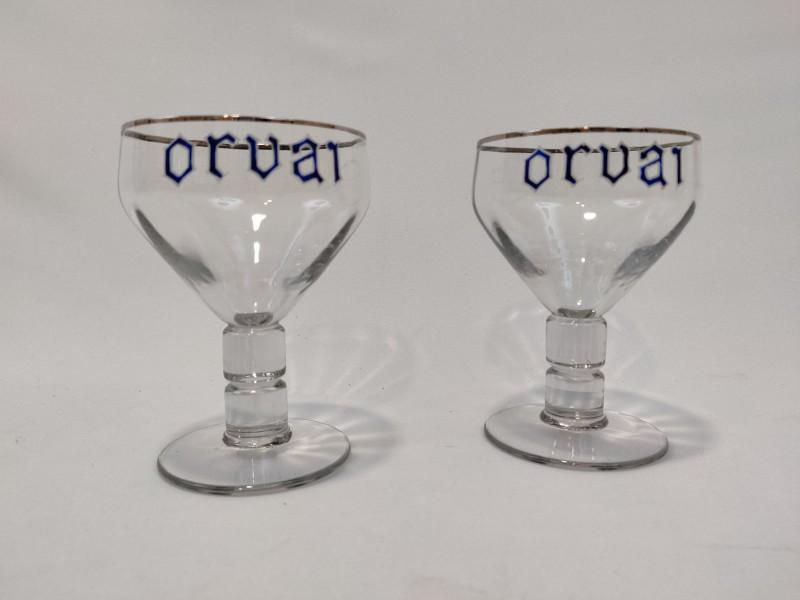 2 Orval glazen