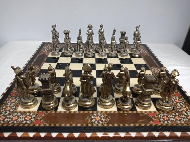 Prachtig schaakspel, Napoleon