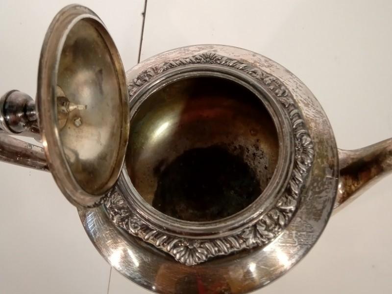 Silver-Plated set van 4