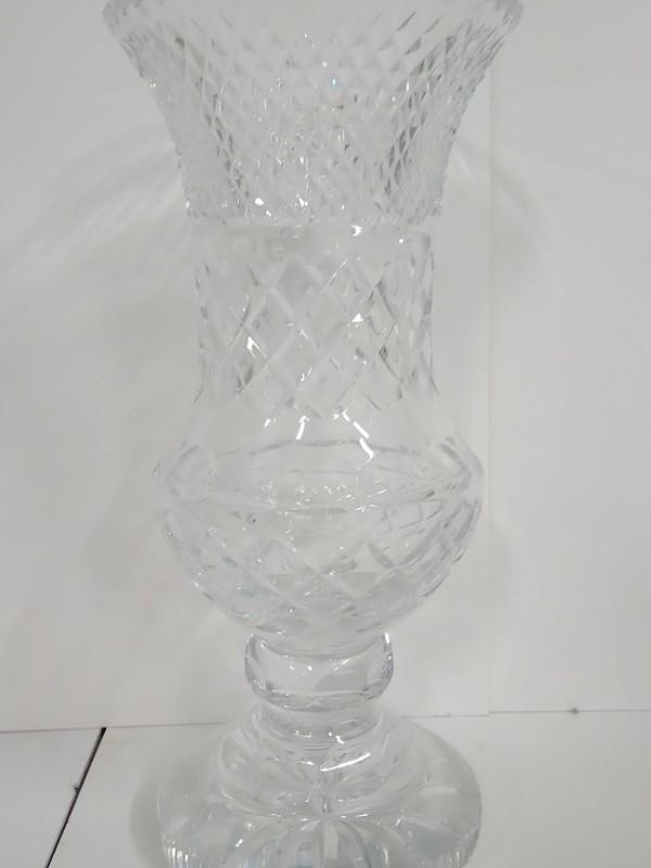 Mooie hoge kristallen vaas