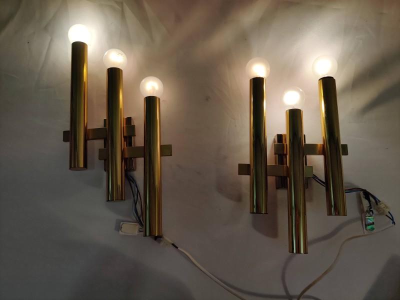 Boulanger wandlampen, Gaetano Sciolari, jaren '60