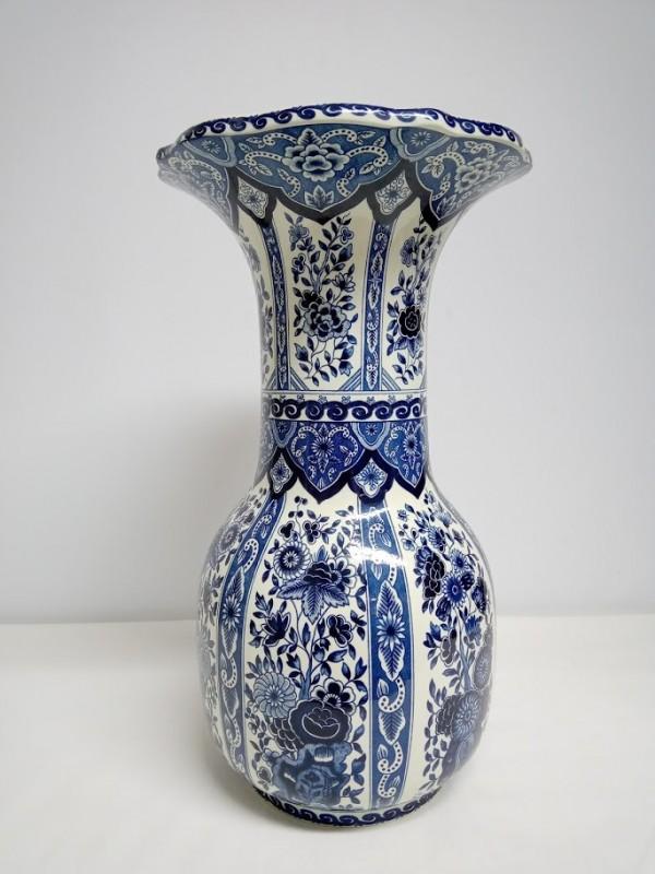 porseleinen vaas Blauw Delft's