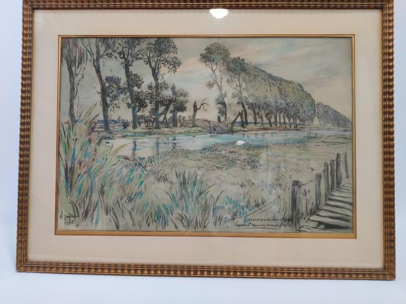 Schilderij Georges Marc Henry