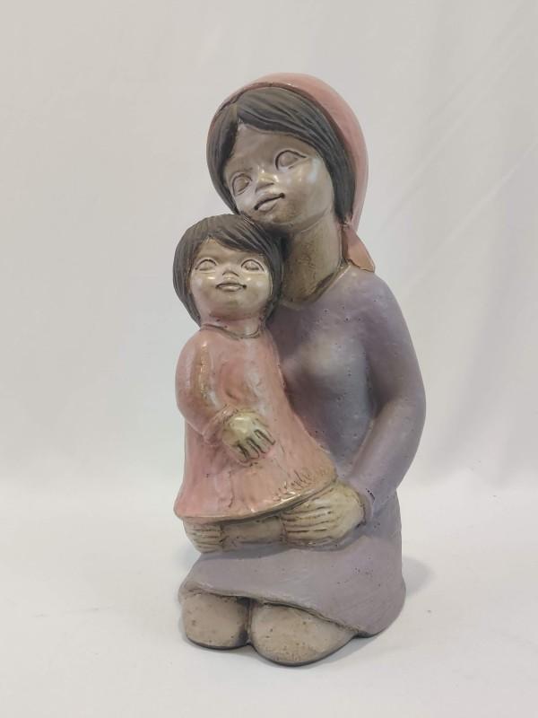 Beeld moeder met kind