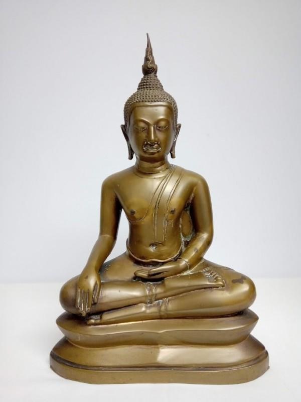 zittend Boudhistisch beeld