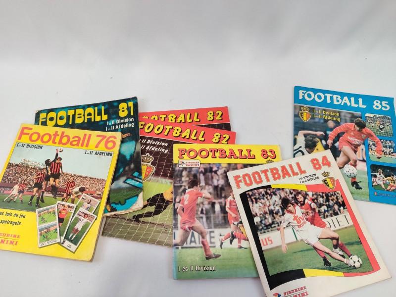 Vintage Panini Voetbal boeken