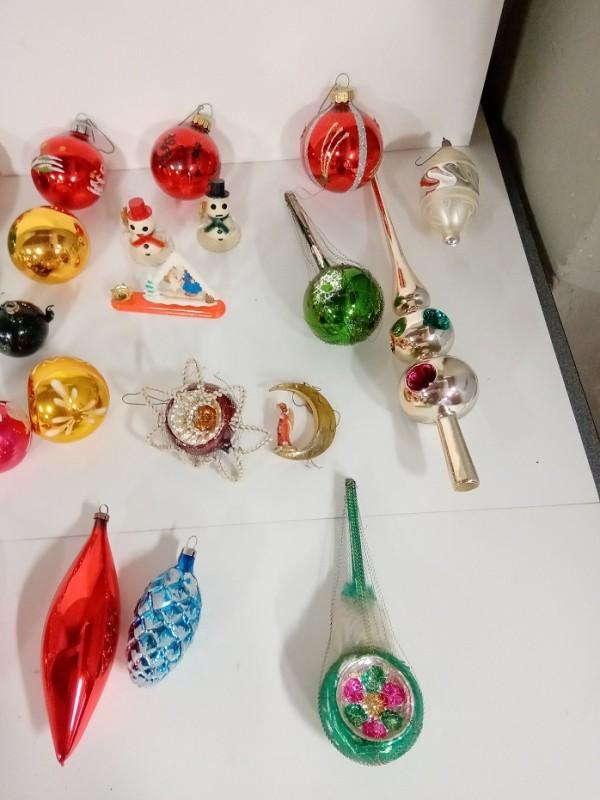Doosje met 40 tal kerstballen