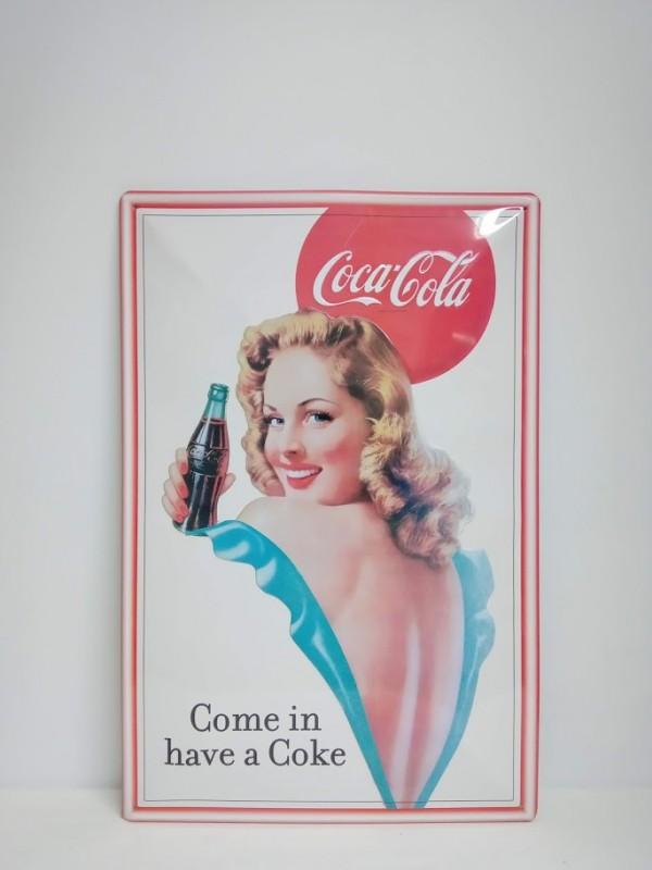"""vintage portret Marilyn Monroe """"Coca Cola"""""""