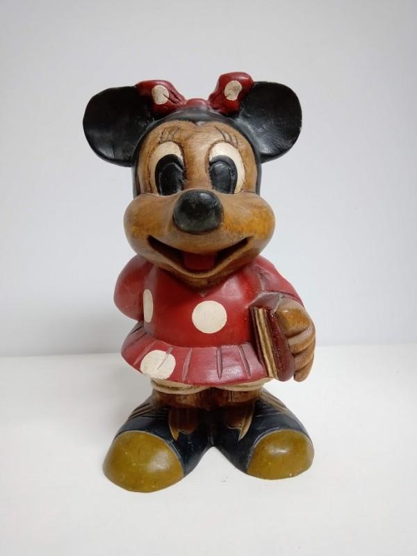 vintage Minnie Mouse houten