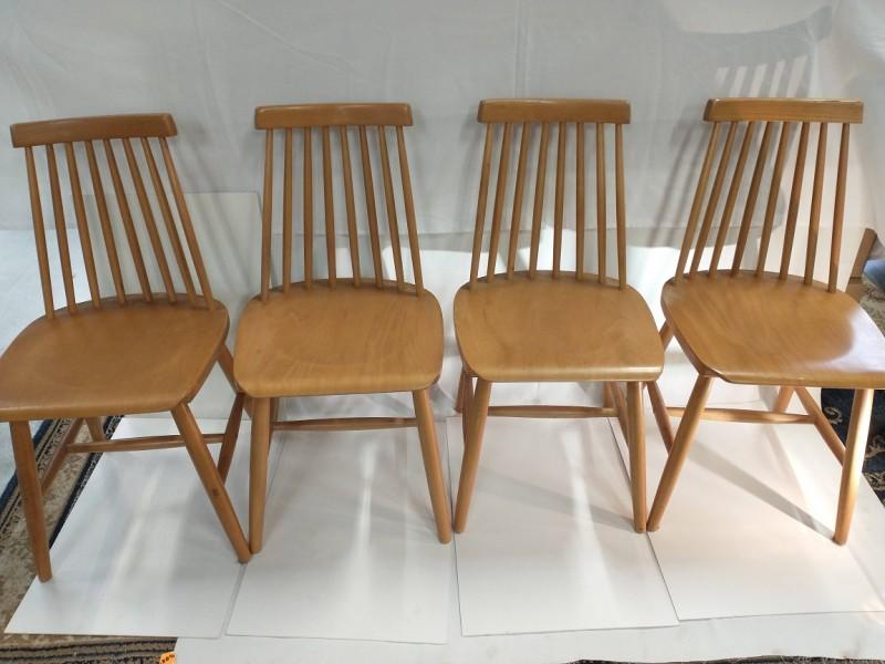 Vintage Spijlen stoelen