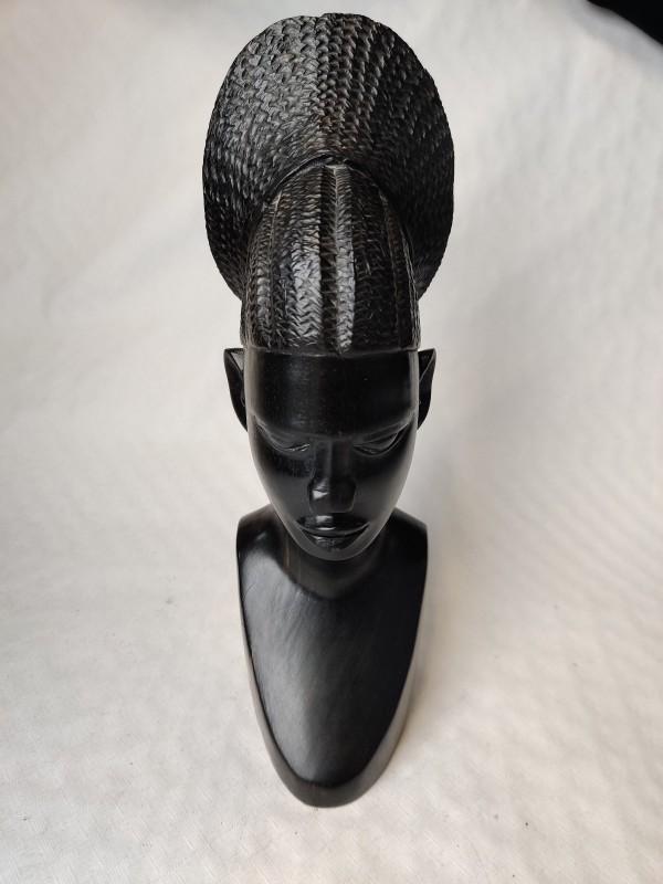 Afrikaans houten hoofd