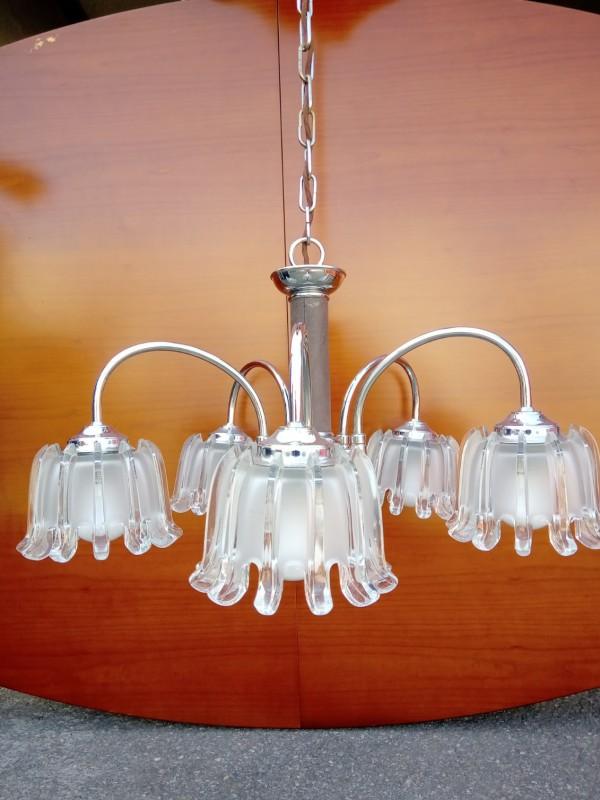Jaren 70 hanglamp, Richard essig doria
