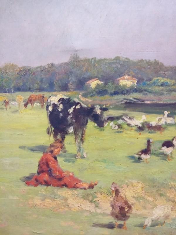 Schilderij gesigneerd: Hendrik Antonissen
