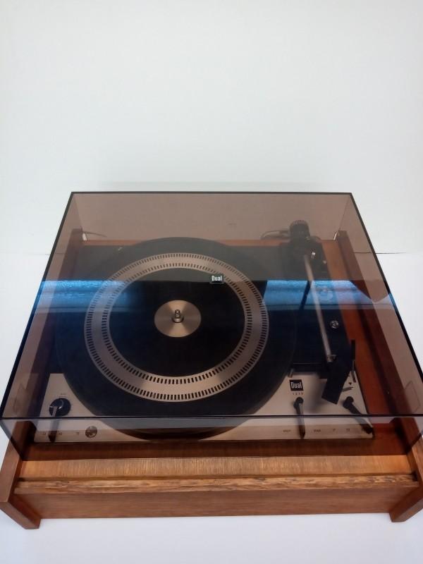 Vintage draaitafel/platenspeler Dual 1219
