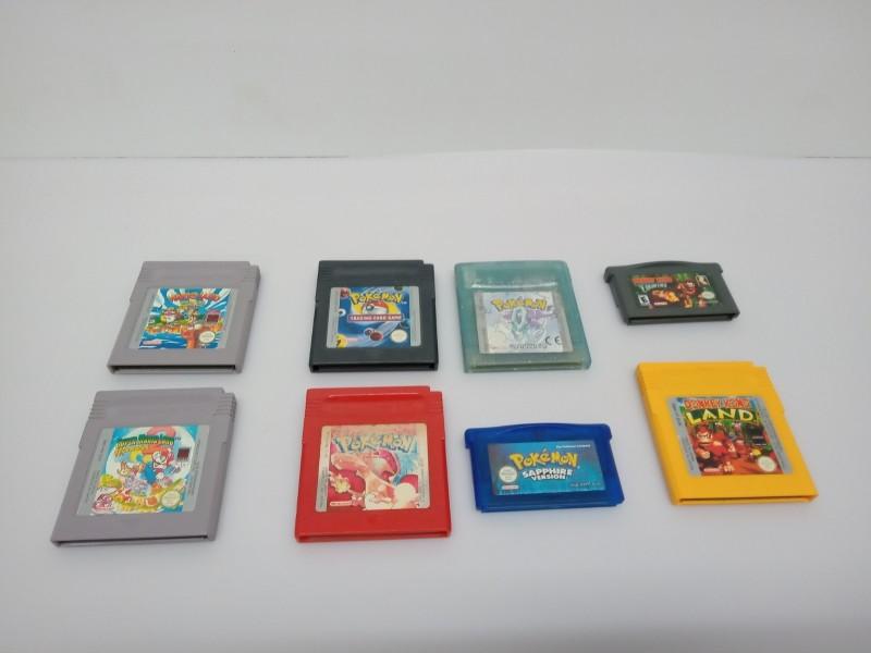 8 Game-boy games