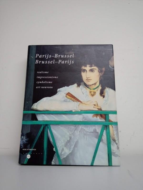 boek : Parijs-Brussel Brussel-Parijs