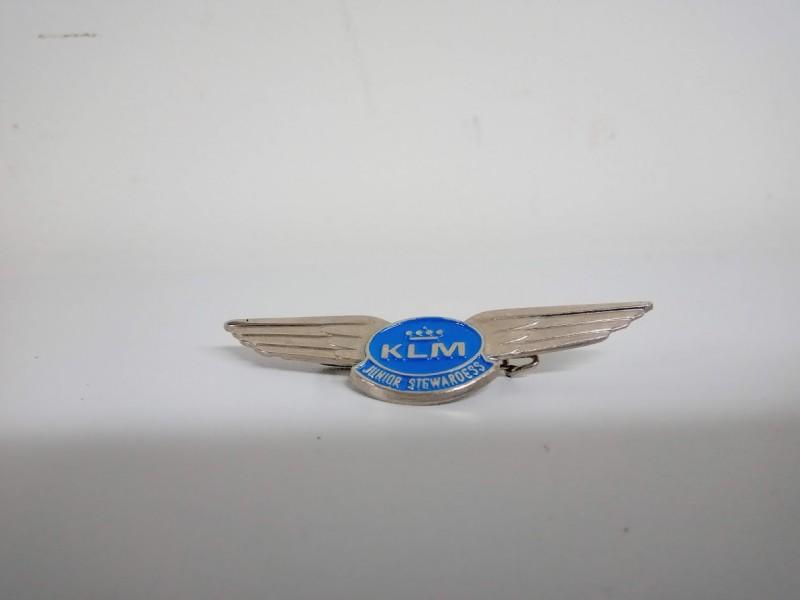 kleine badge: KLM junior Stewardess