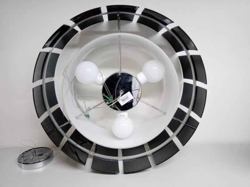 Retro ronde hanglamp